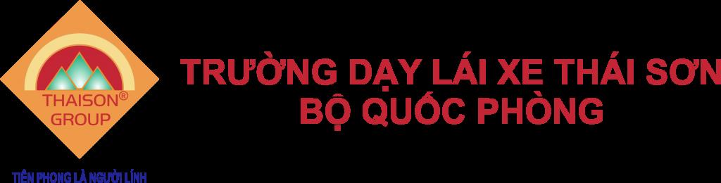 Logo Trường Dạy Lái Xe Thái Sơn - Bộ Quốc Phòng