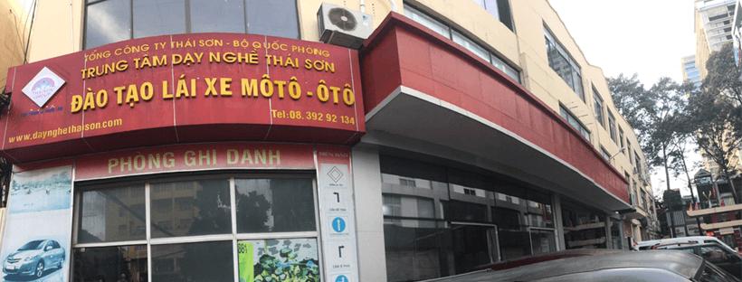 Trụ Sở Chính Của Trung Tâm Đào Tạo Lái Xe Thái Sơn