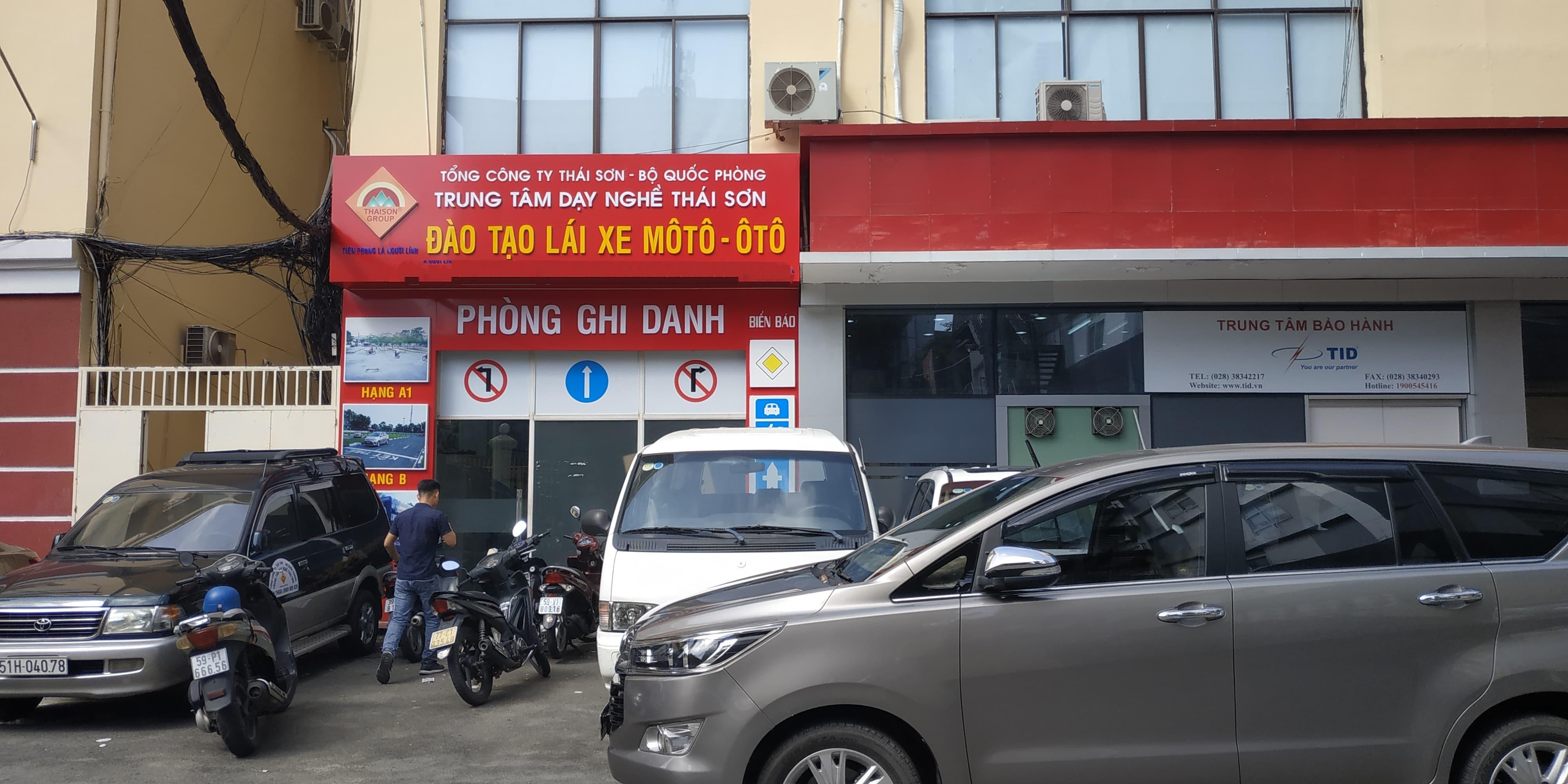 Trường Dạy Lái Xe Thái Sơn BQP