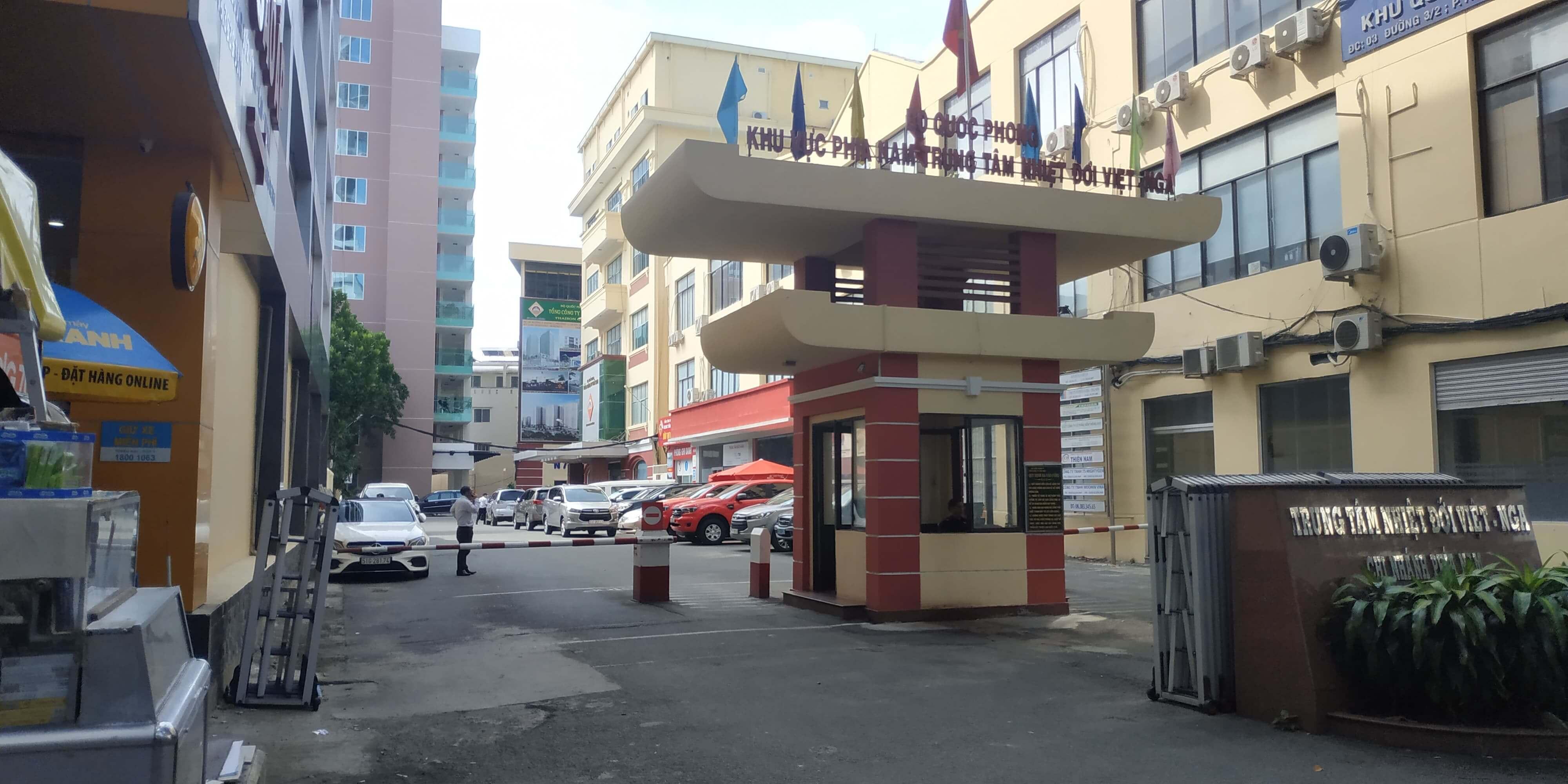 Văn phòng tuyển sinh Trường Dạy Lái Xe Thái Sơn - Bộ Quốc Phòng