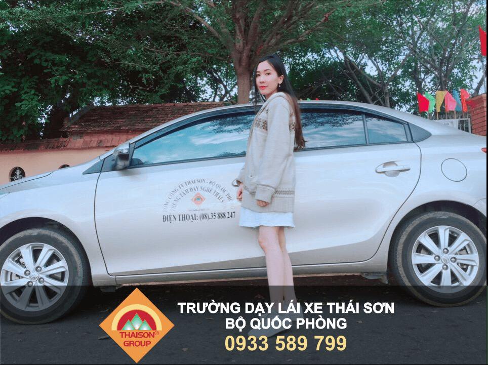 Với chương đào tạo lái xe ô tô chất lượng, học viên tại Trường Dạy Lái Xe Thái Sơn luôn tự tin với kỹ năng mà mình đã học được