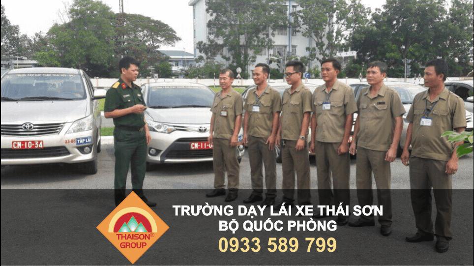 Trường Dạy Lái Xe Thái Sơn - Đơn vị được đào tạo và cấp phép bởi Sở GTVT